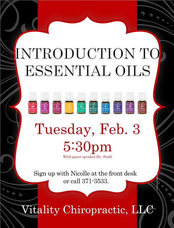 Vitality Essential Oils
