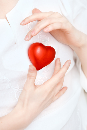 Hands store heart